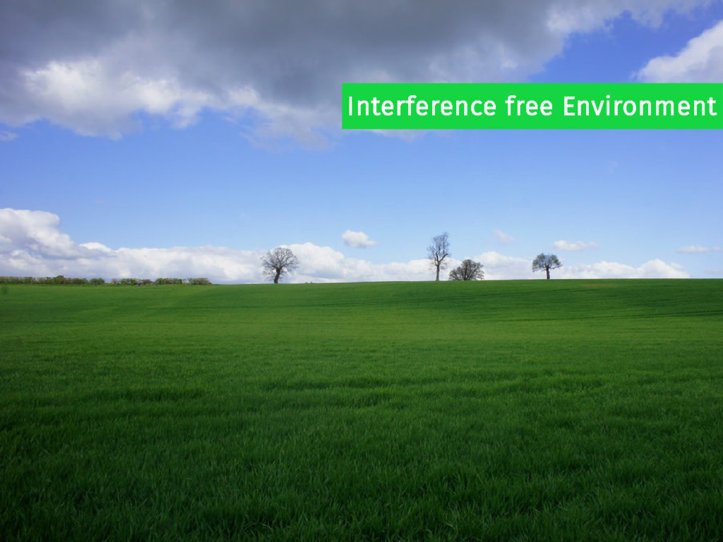 Interference free Environment