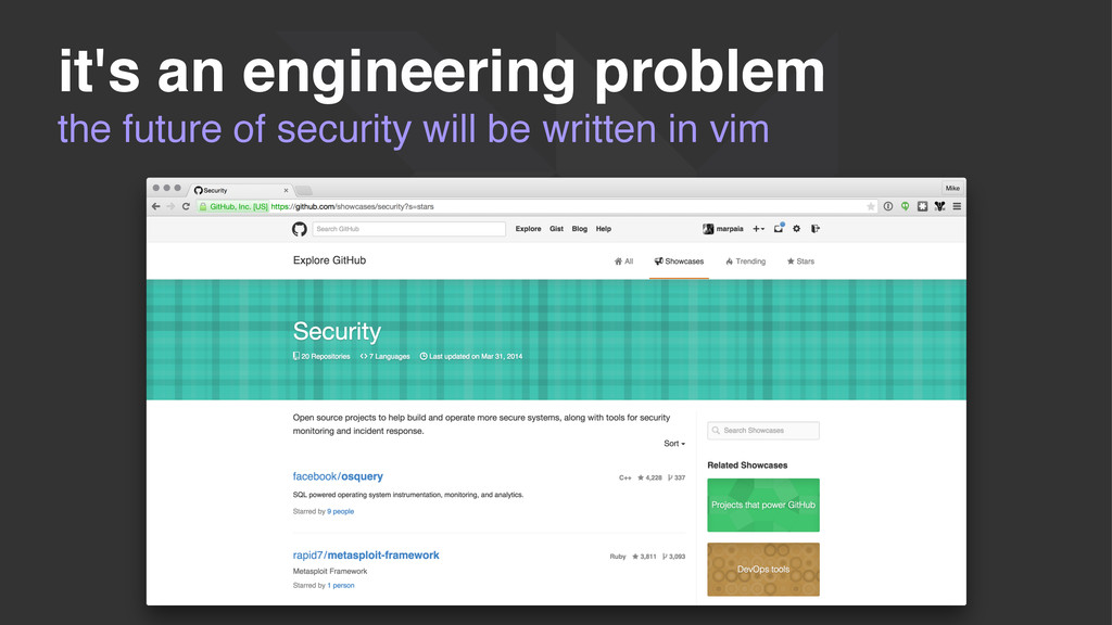 the future of security will be written in vim i...