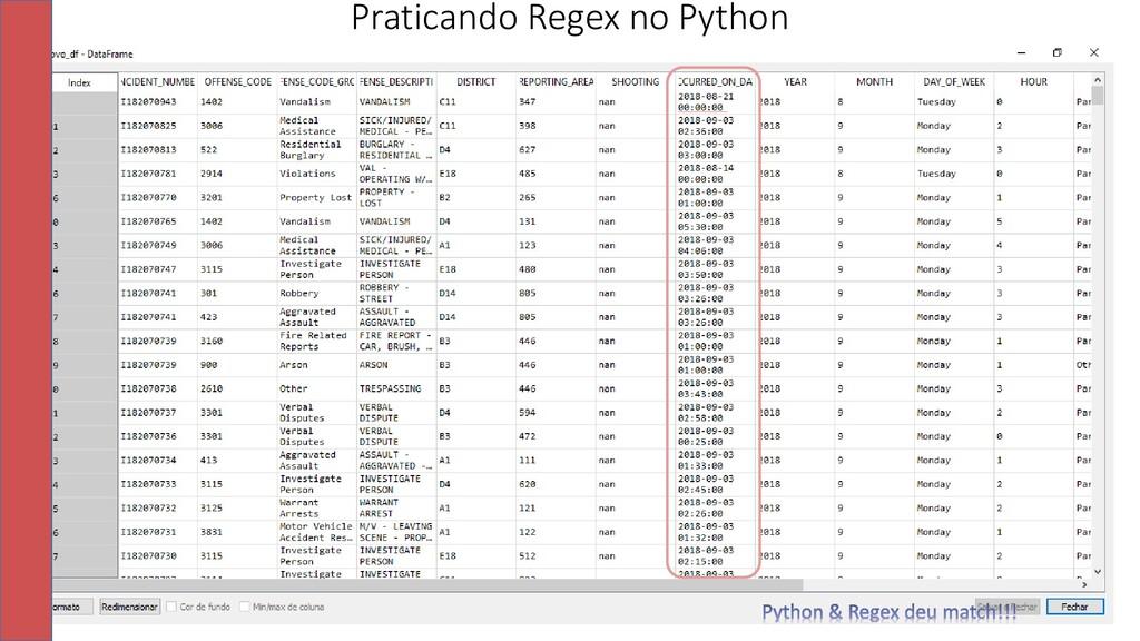 34 Praticando Regex no Python