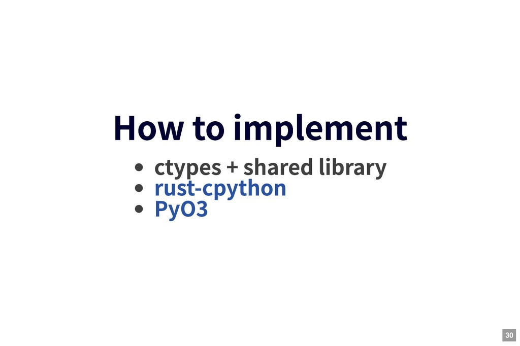 How to implement How to implement ctypes + shar...