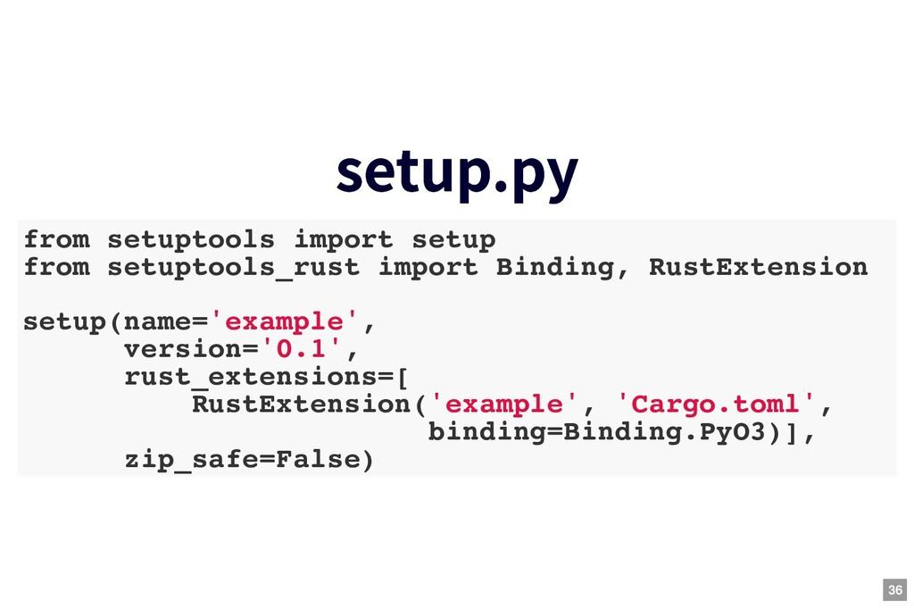 setup.py setup.py from setuptools import setup ...