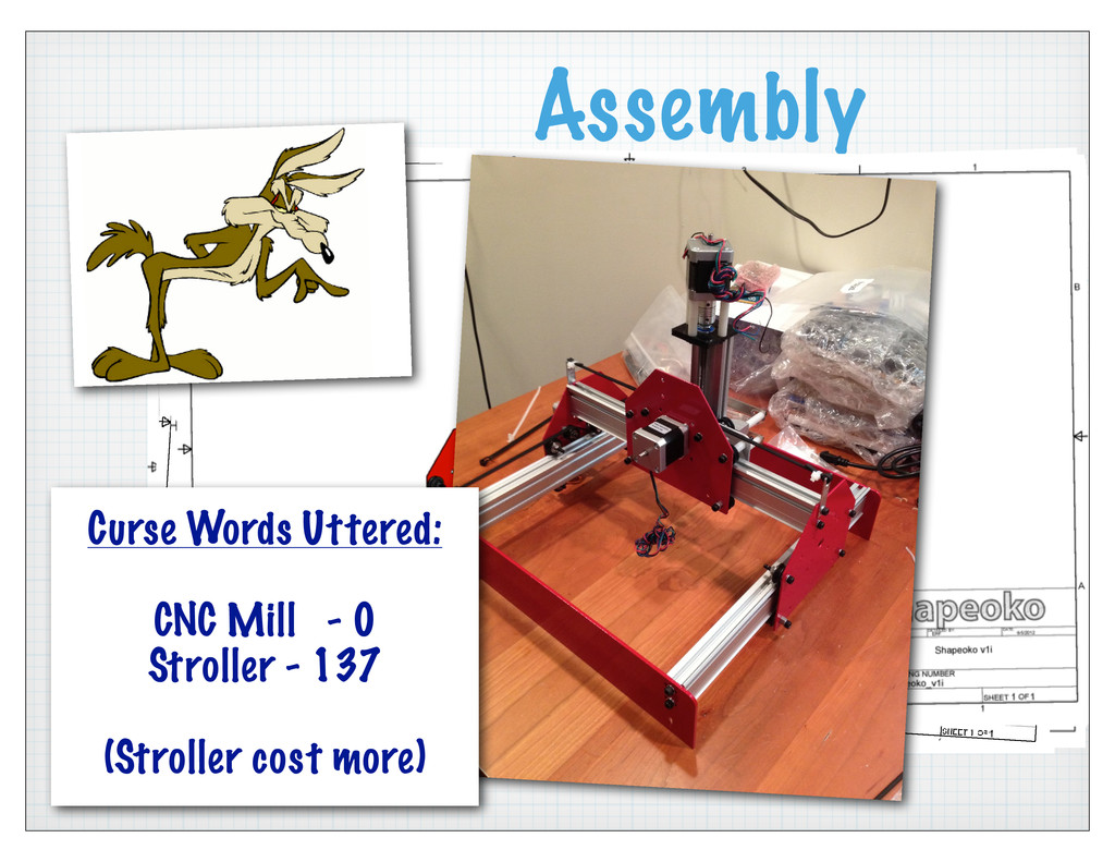 Assembly Curse Words Uttered: CNC Mill - 0 Stro...