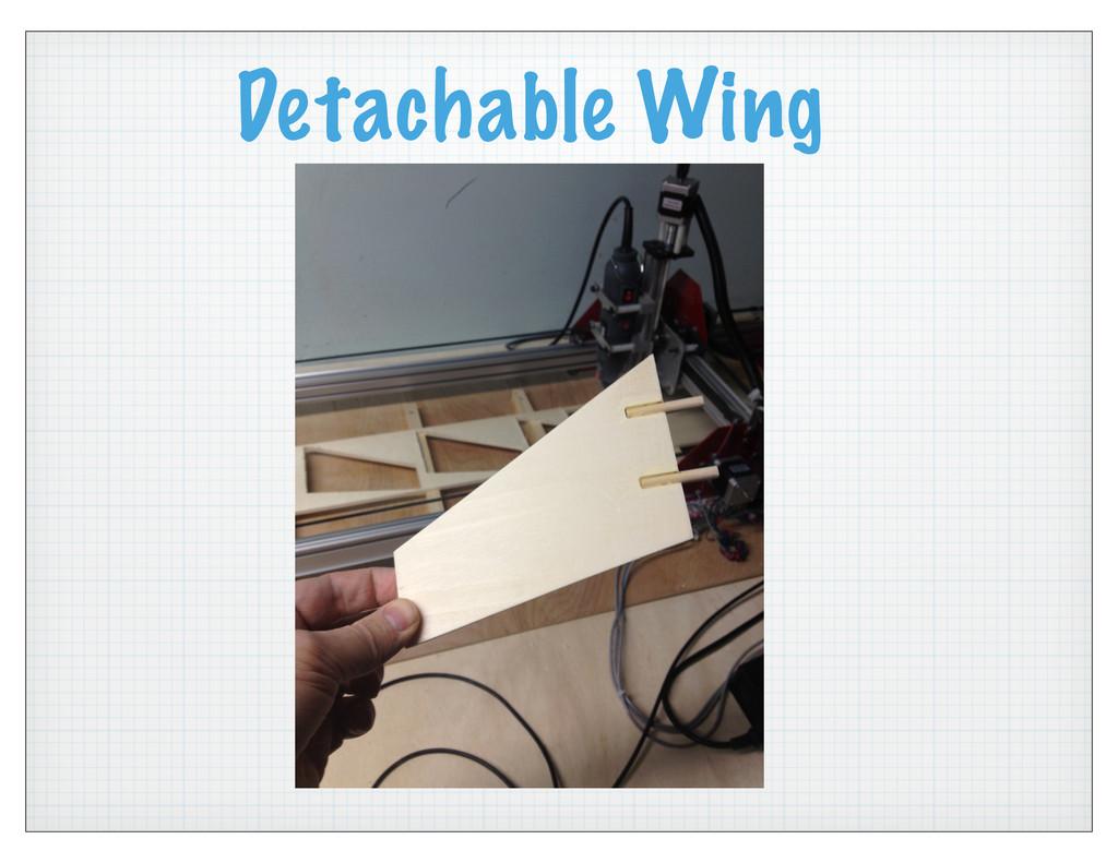 Detachable Wing