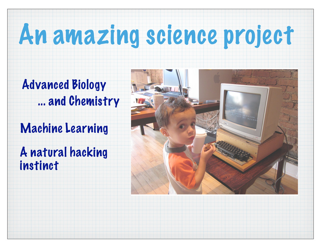 An amazing science project Advanced Biology ......