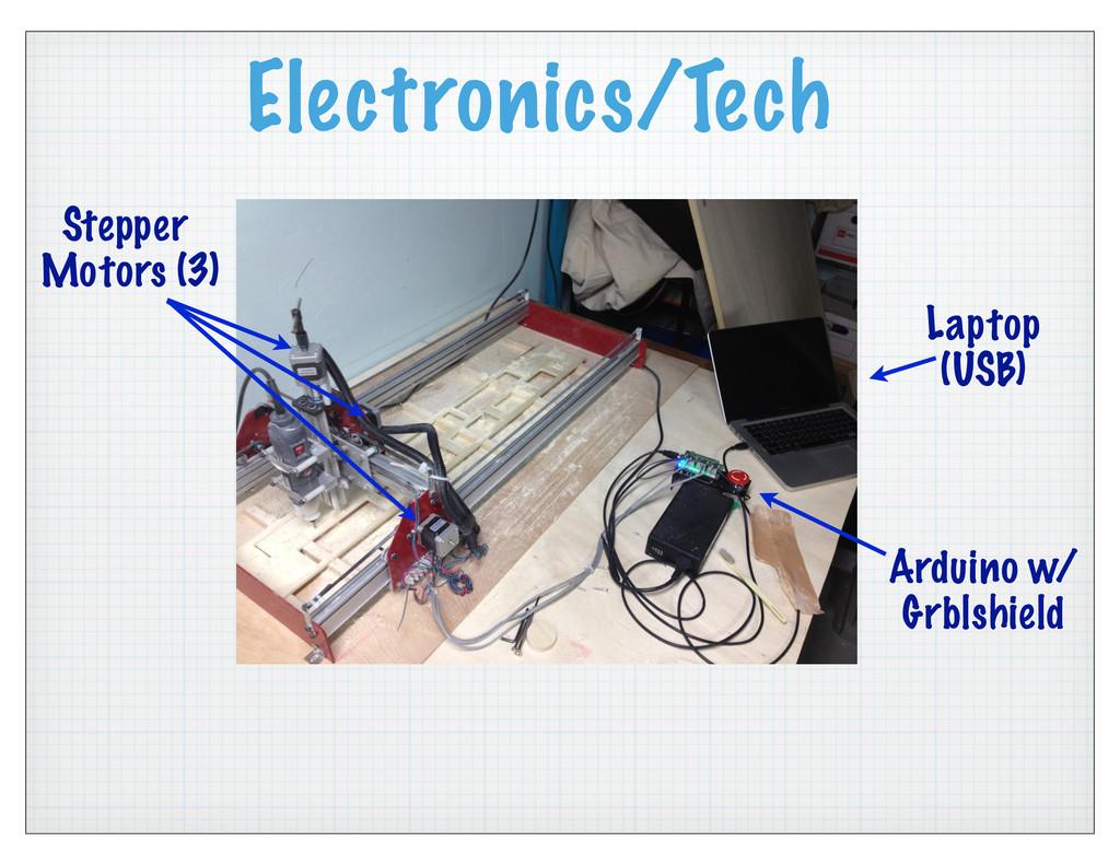 Electronics/Tech Stepper Motors (3) Arduino w/ ...