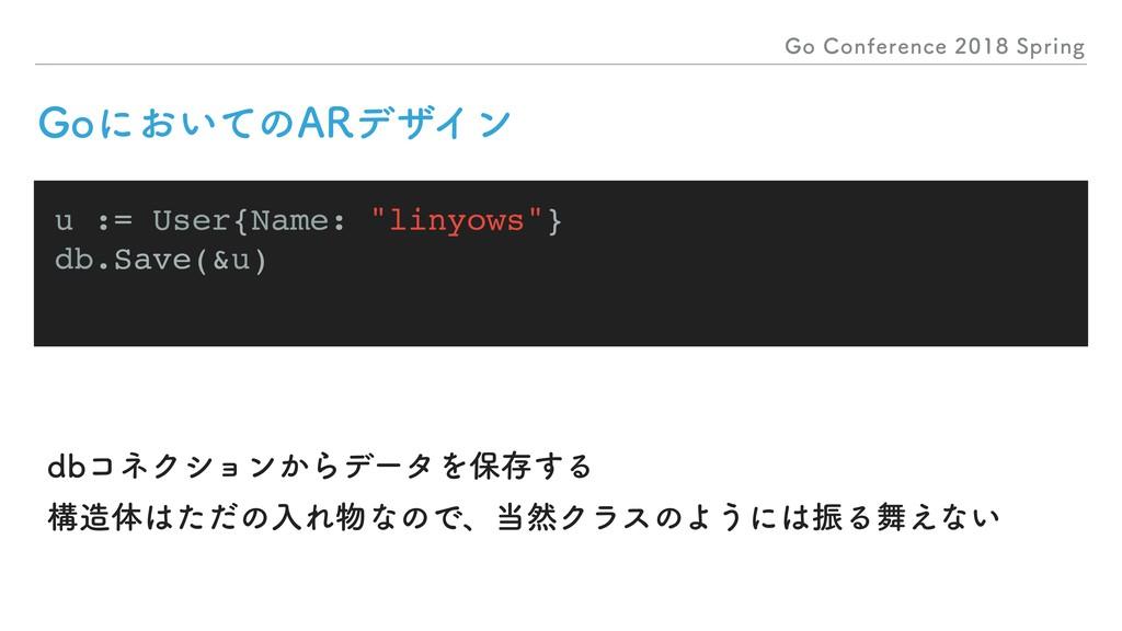 "(P$POGFSFODF4QSJOH u := User{Name: ""liny..."
