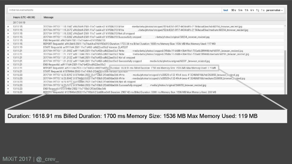 MiXiT 2017   @_crev_ Duration: 1618.91 ms Bille...