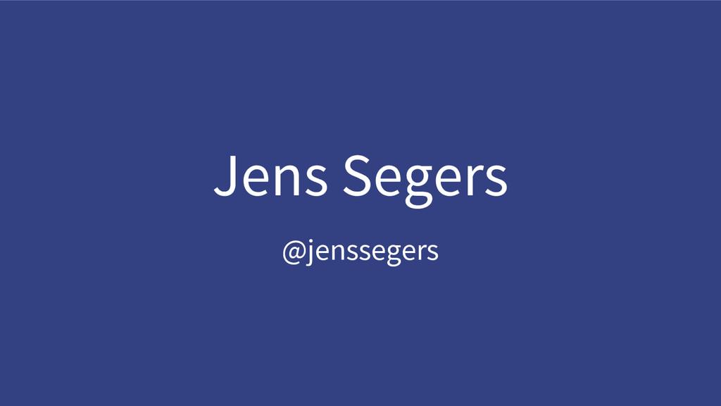 @jenssegers Jens Segers