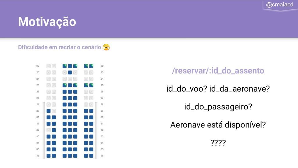 @cmaiacd /reservar/:id_do_assento id_do_voo? id...