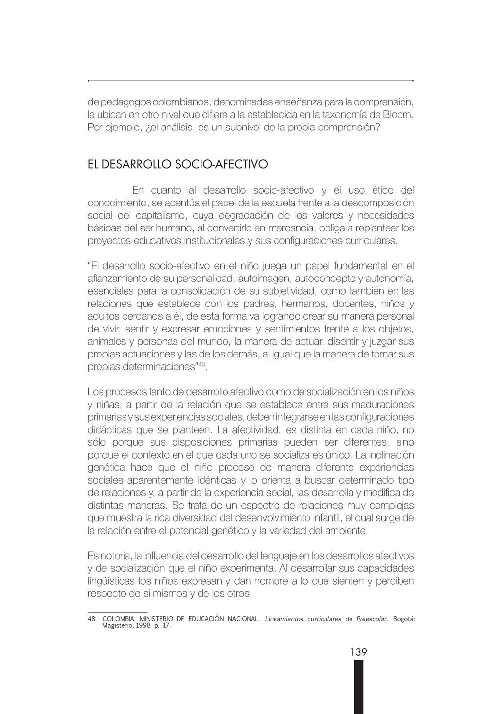 139 de pedagogos colombianos, denominadas enseñ...