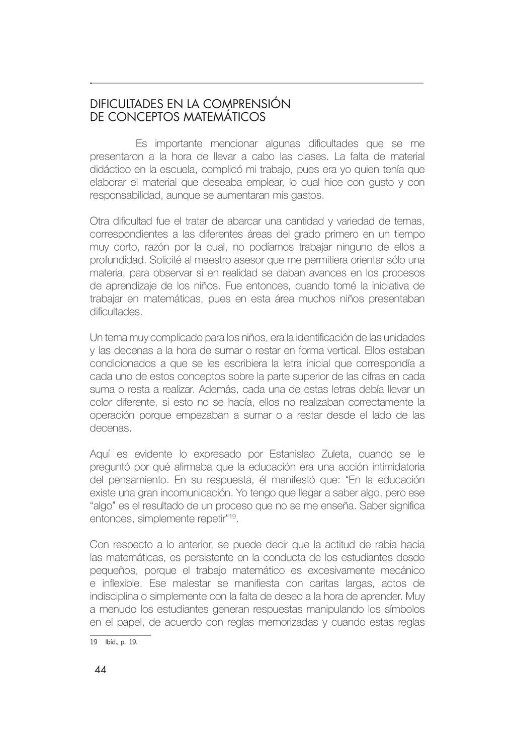 44 DIFICULTADES EN LA COMPRENSIÓN DE CONCEPTOS ...