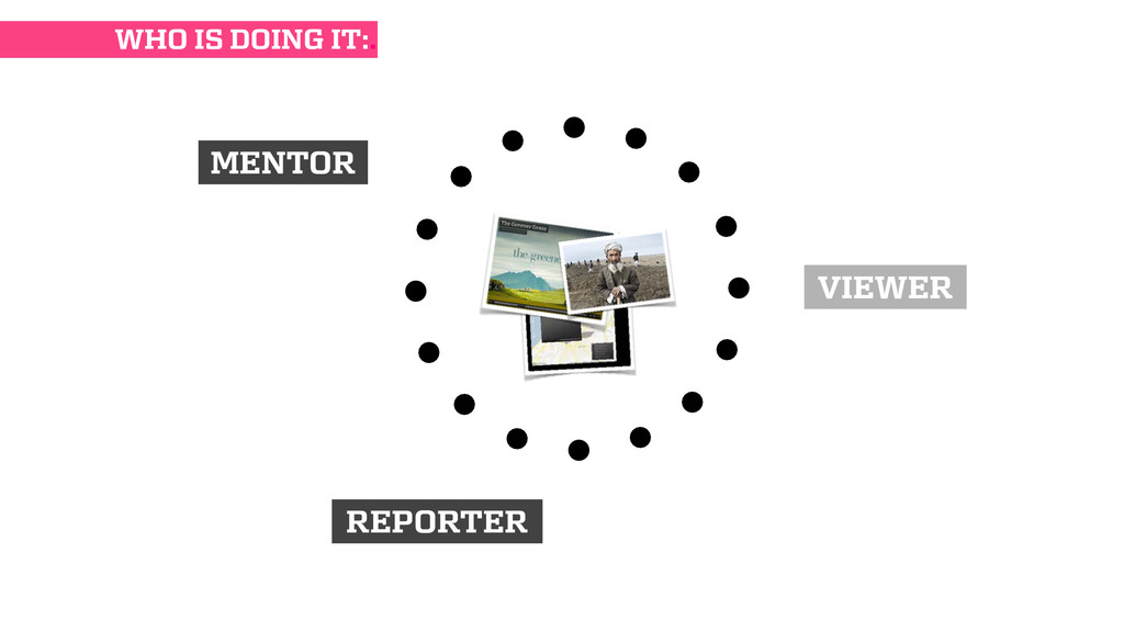 MENTOR REPORTER VIEWER WHO IS DOING IT:.