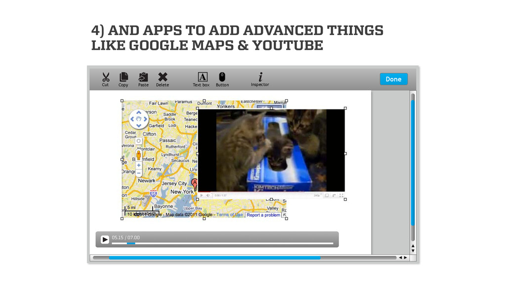 4) AND APPS TO ADD ADVANCED THINGS LIKE GOOGLE ...