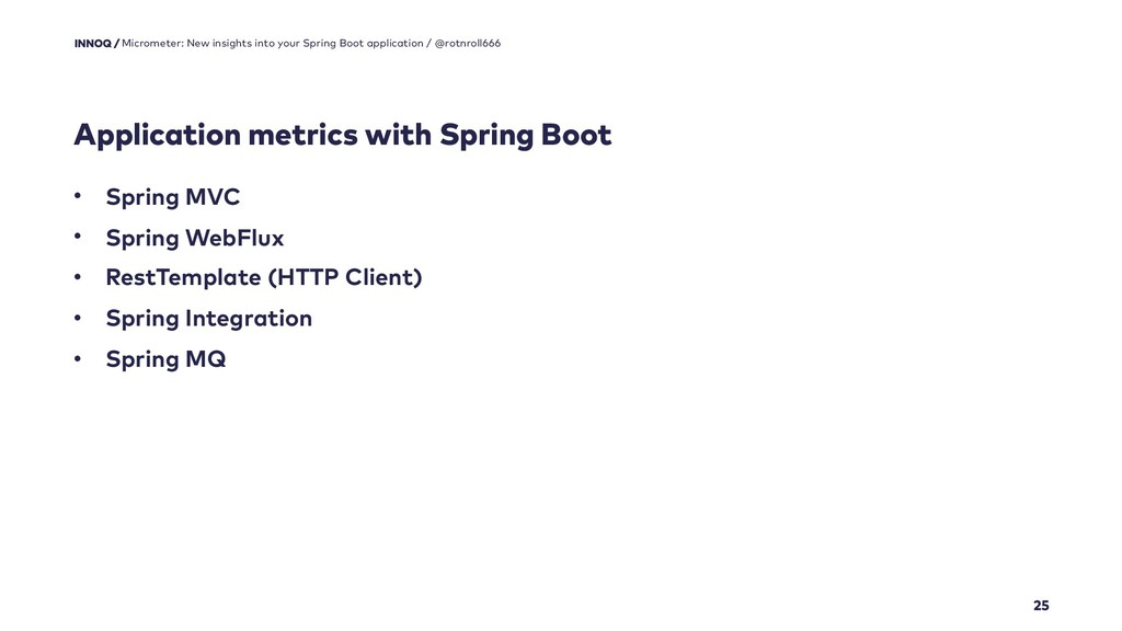 Application metrics with Spring Boot 25 Microme...