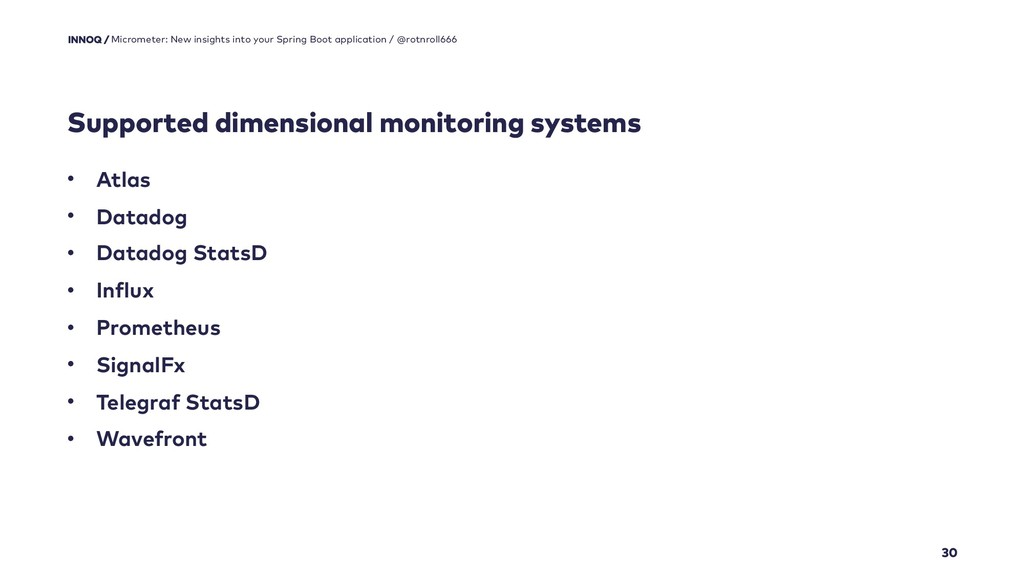 Supported dimensional monitoring systems 30 Mic...
