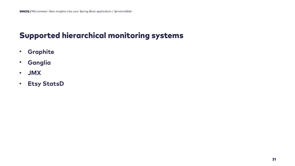 Supported hierarchical monitoring systems 31 Mi...