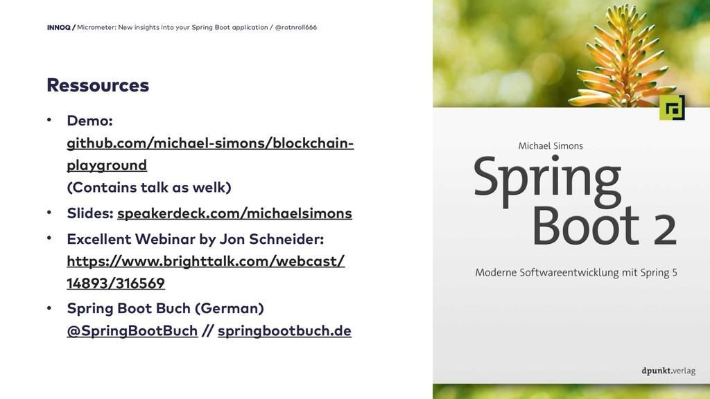37 • Demo:  github.com/michael-simons/blockcha...