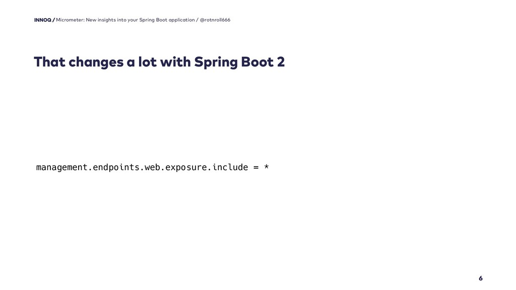 That changes a lot with Spring Boot 2 6 Microme...