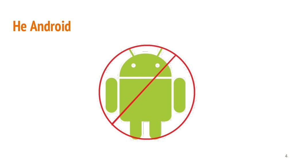 Не Android 4