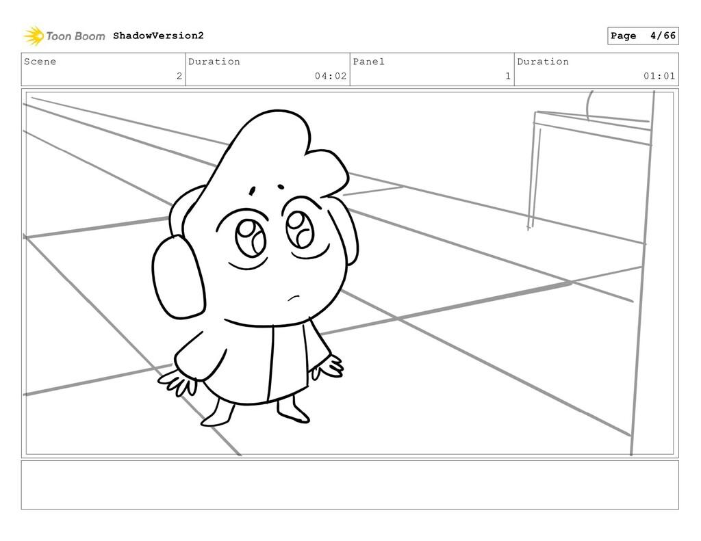 Scene 2 Duration 04:02 Panel 1 Duration 01:01 S...