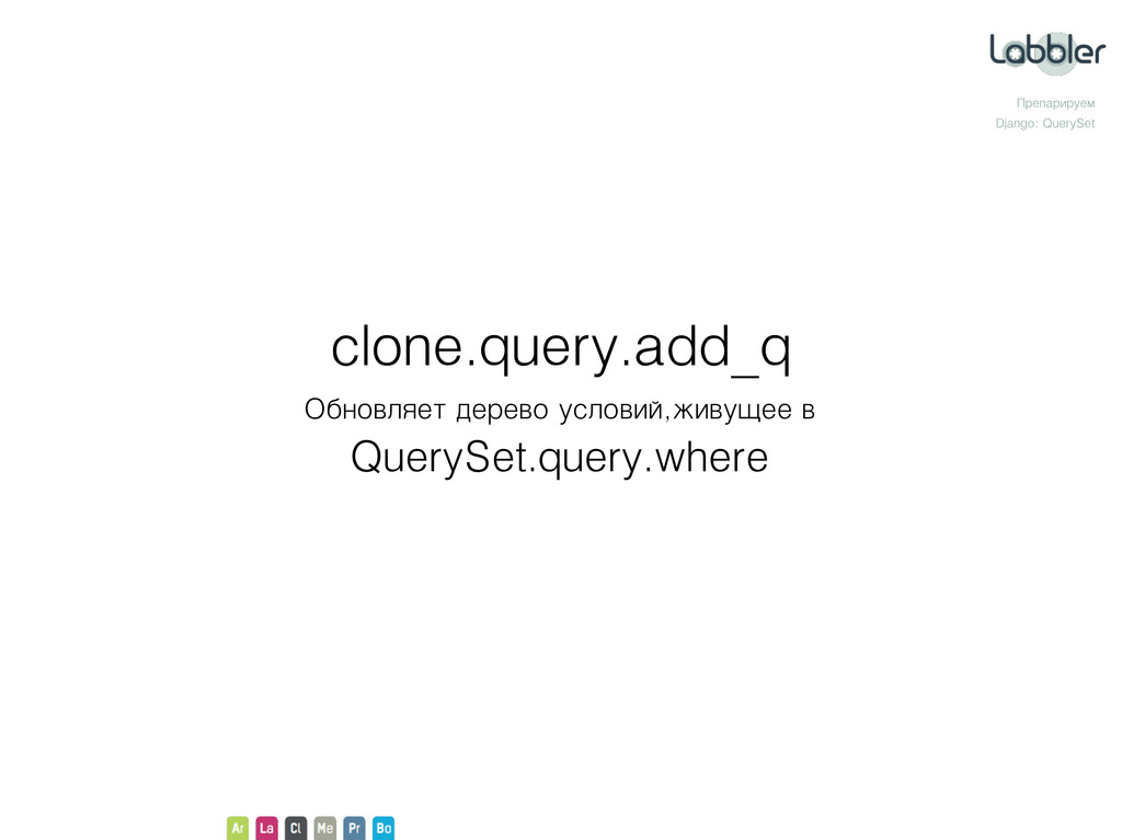 Препарируем Django: QuerySet Обновляет дерево у...