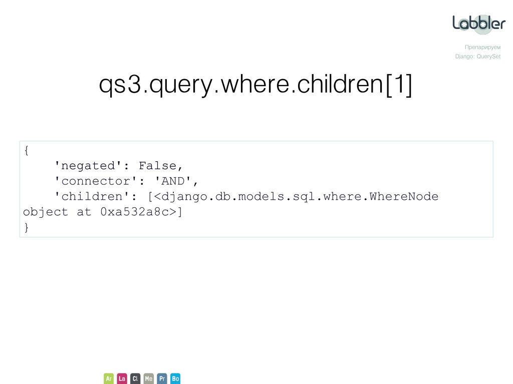 Препарируем Django: QuerySet qs3.query.where.ch...