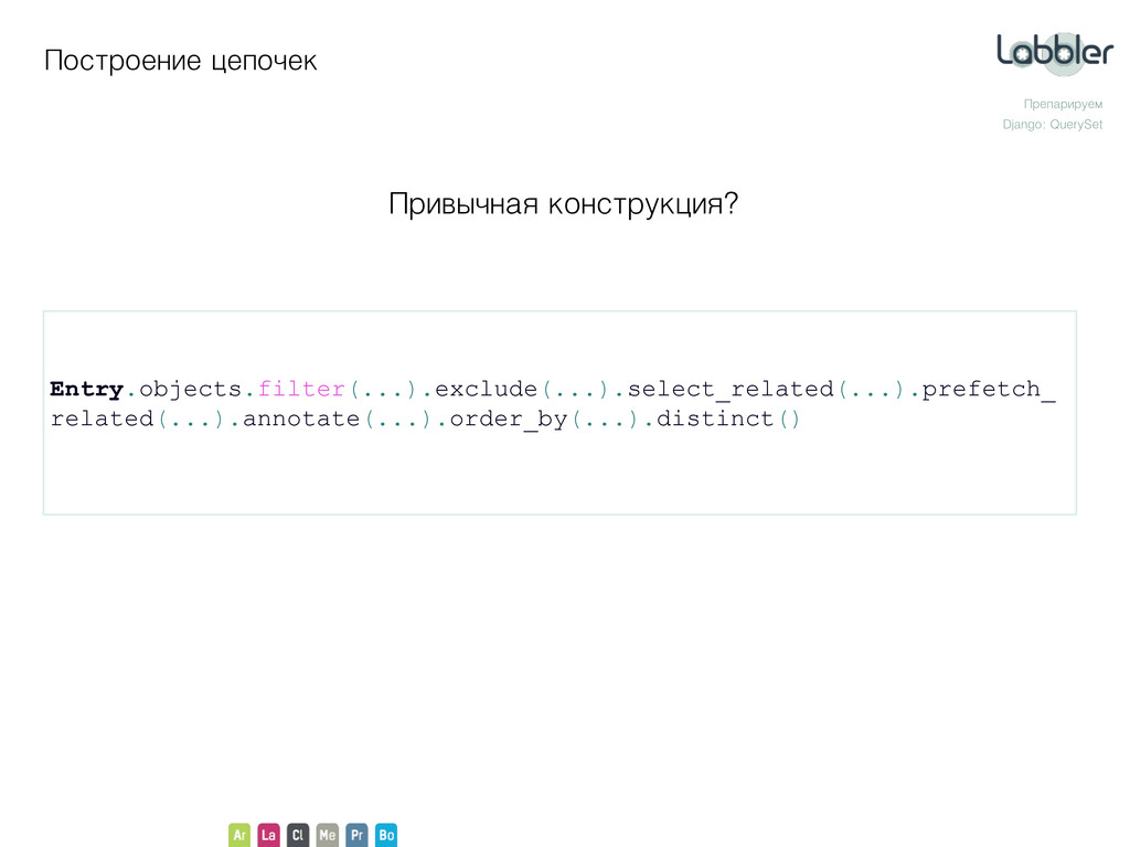 Entry.objects.filter(...).exclude(...).select_r...