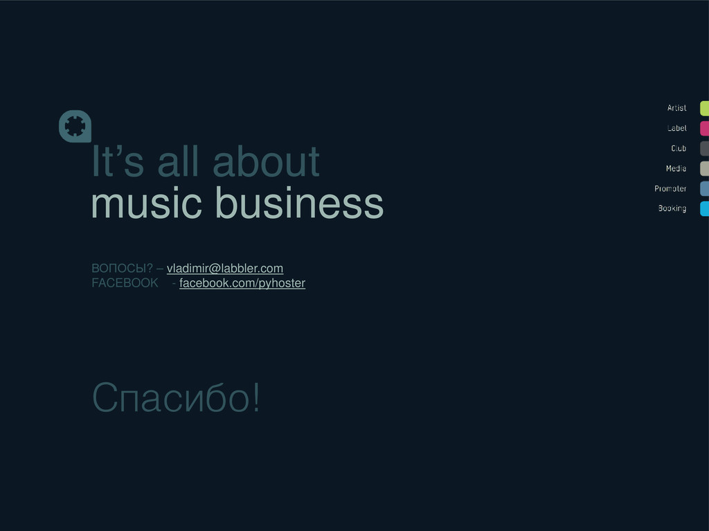 It's all about music business ВОПОСЫ? – vladimi...