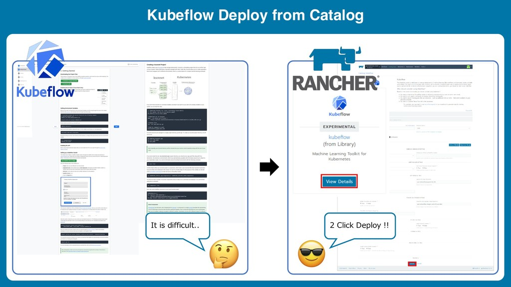 Kubeflow Deploy from Catalog . !