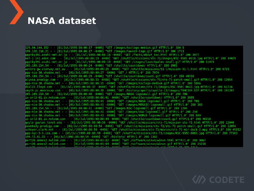 NASA dataset