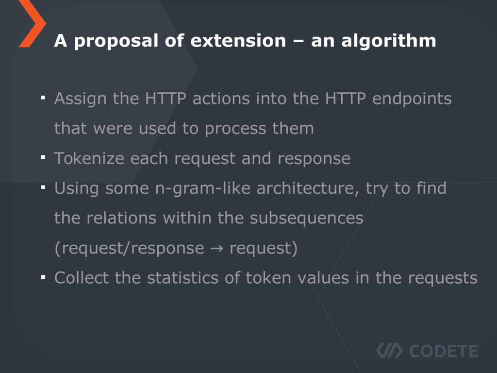 Assign the HTTP actions into the HTTP endpoints...