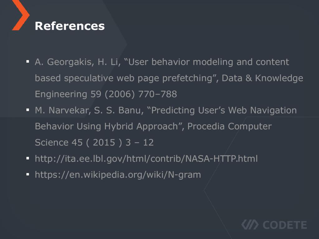 "A. Georgakis, H. Li, ""User behavior modeling an..."