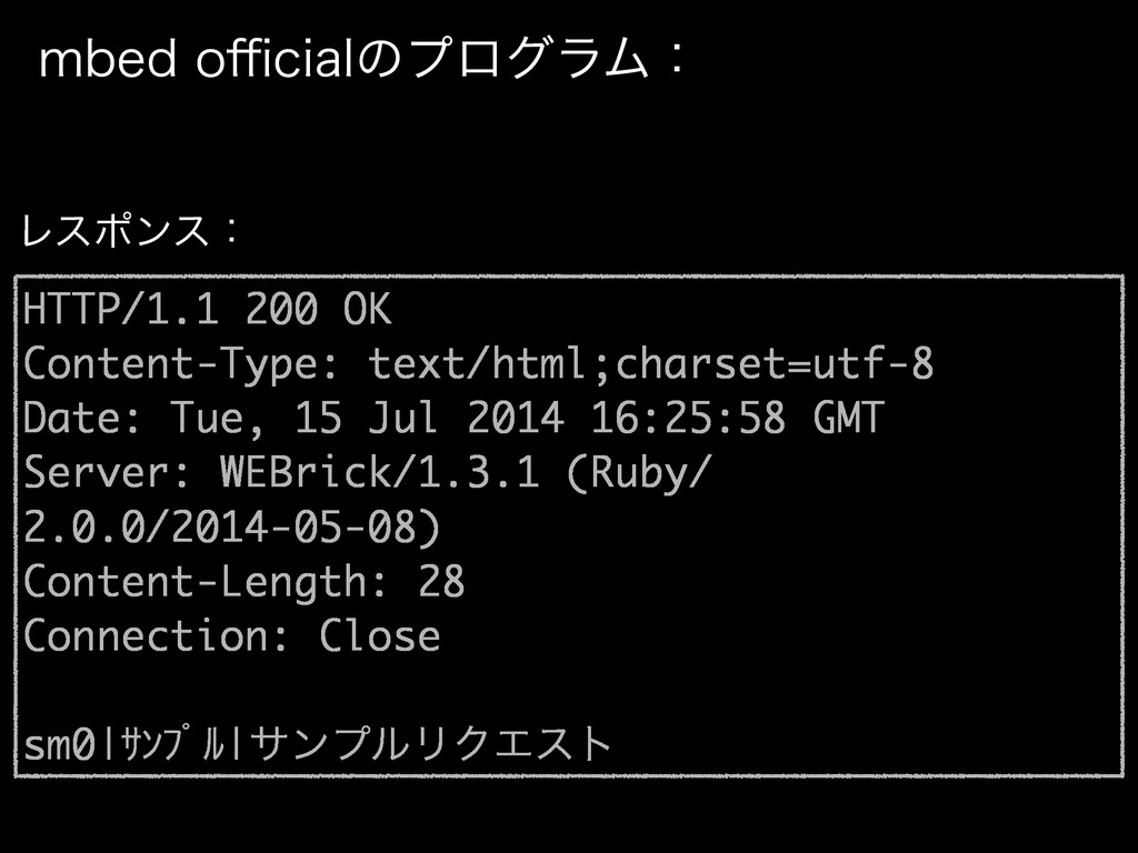 NCFEP⒏DJBMͷϓϩάϥϜɿ HTTP/1.1 200 OK Content-Type...