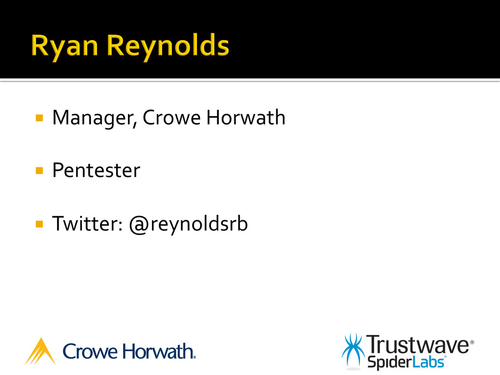 ¡  Manager,	