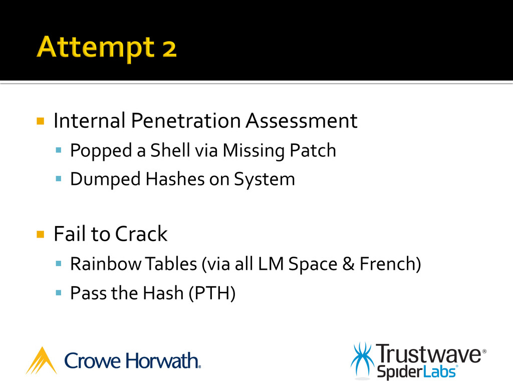 ¡ Internal Penetration Assessment  §...