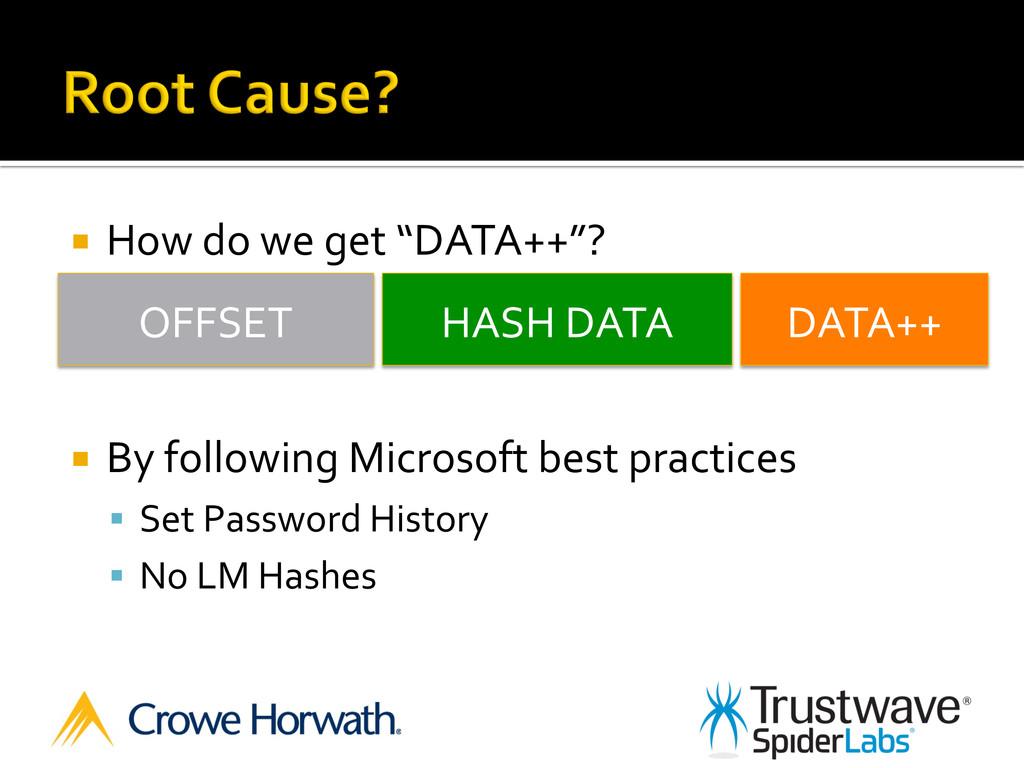 "¡ How do we get ""DATA++""?  ¡..."