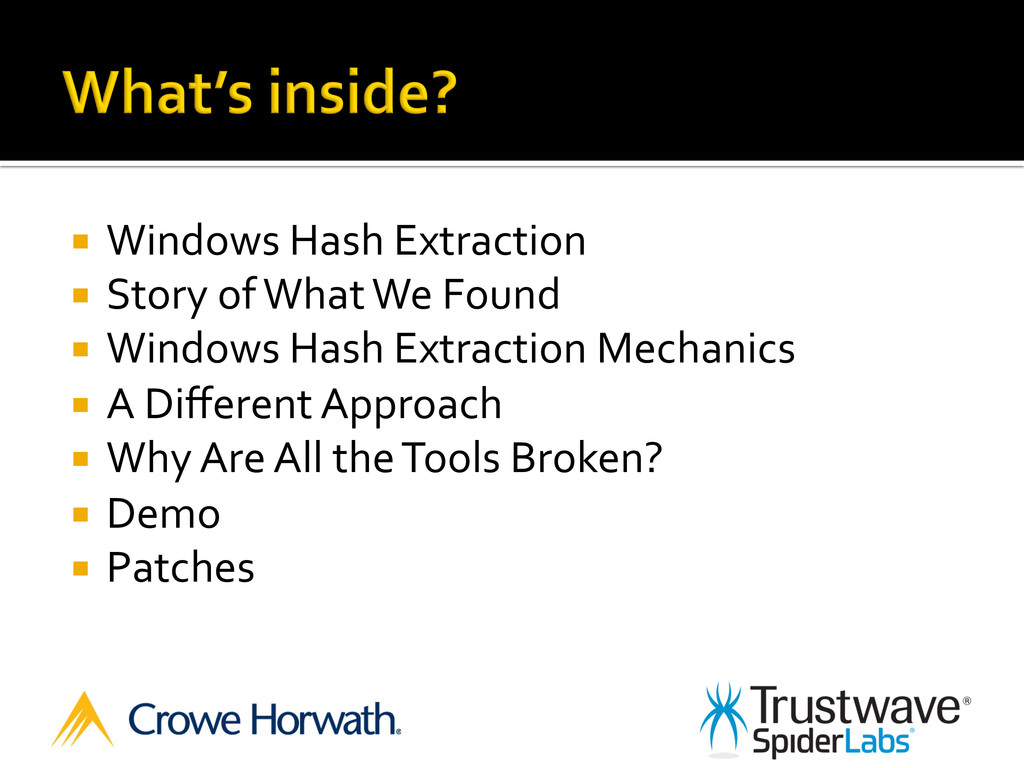 ¡  Windows	