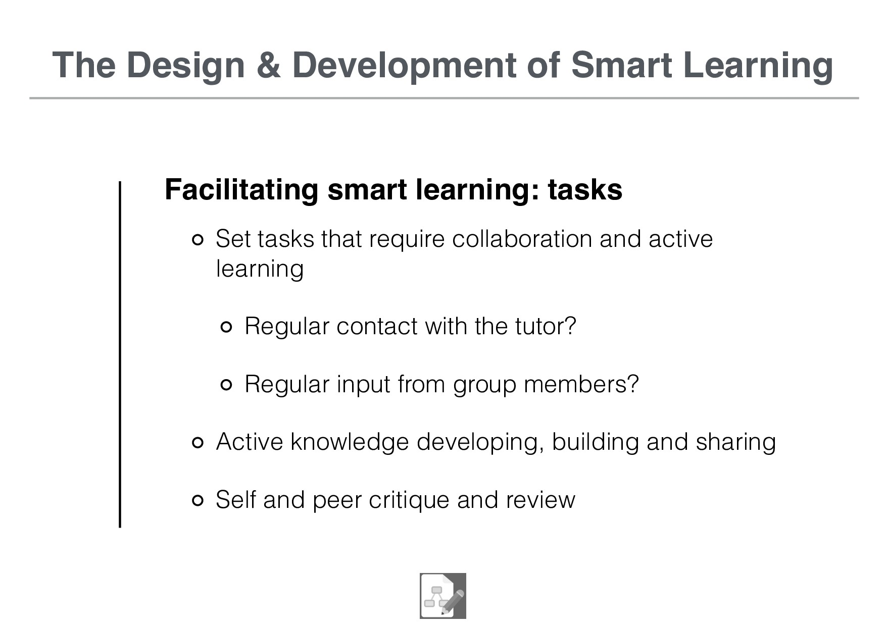 The Design & Development of Smart Learning Faci...