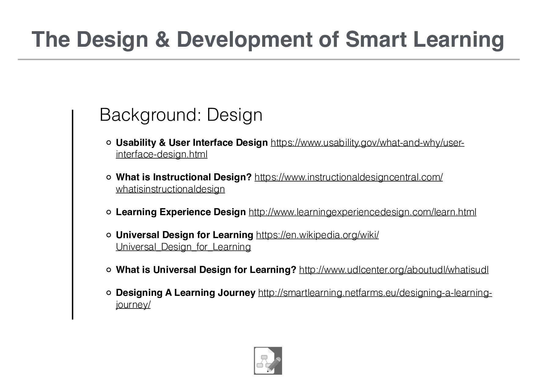 The Design & Development of Smart Learning Back...