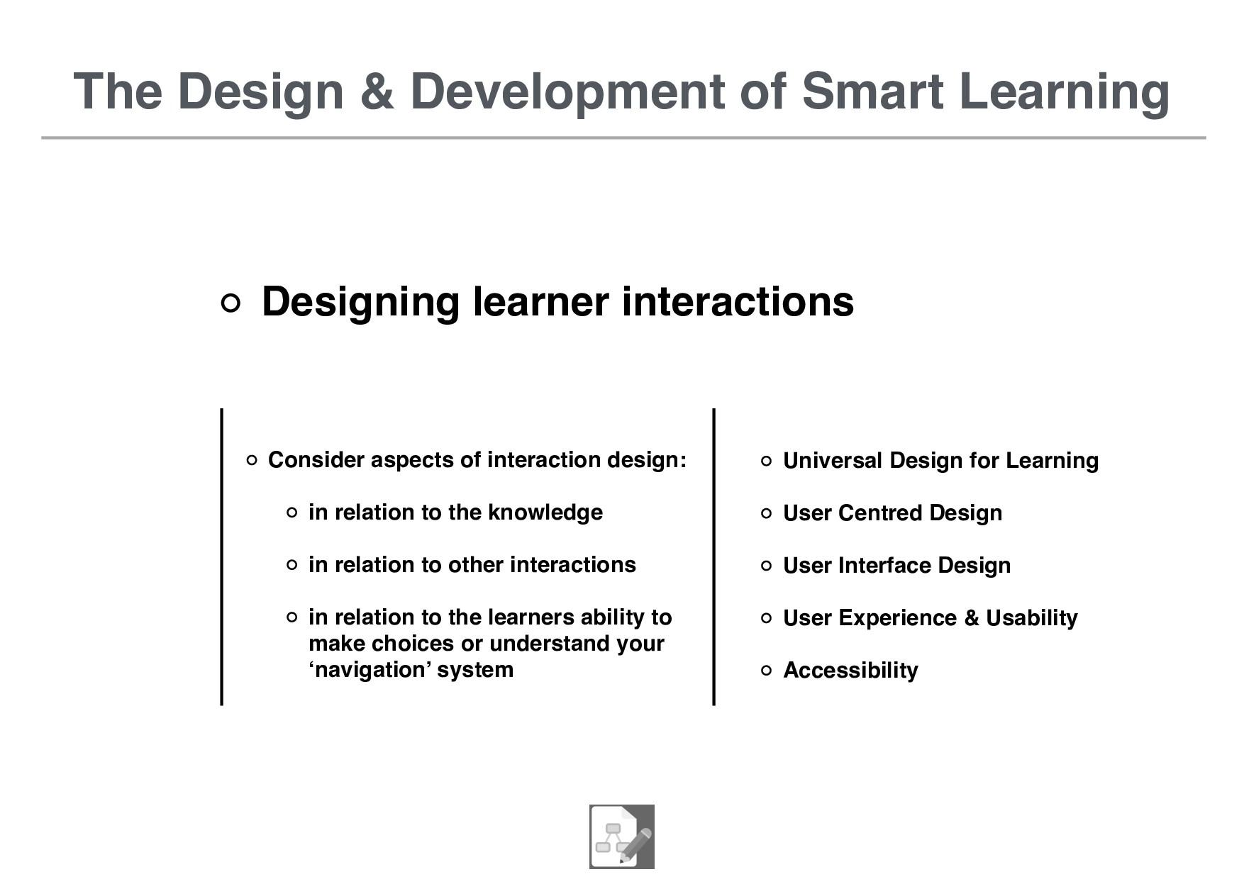 The Design & Development of Smart Learning Desi...