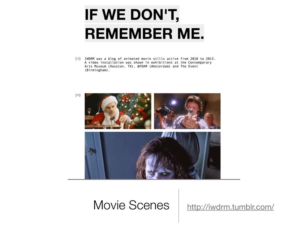Movie Scenes http://iwdrm.tumblr.com/