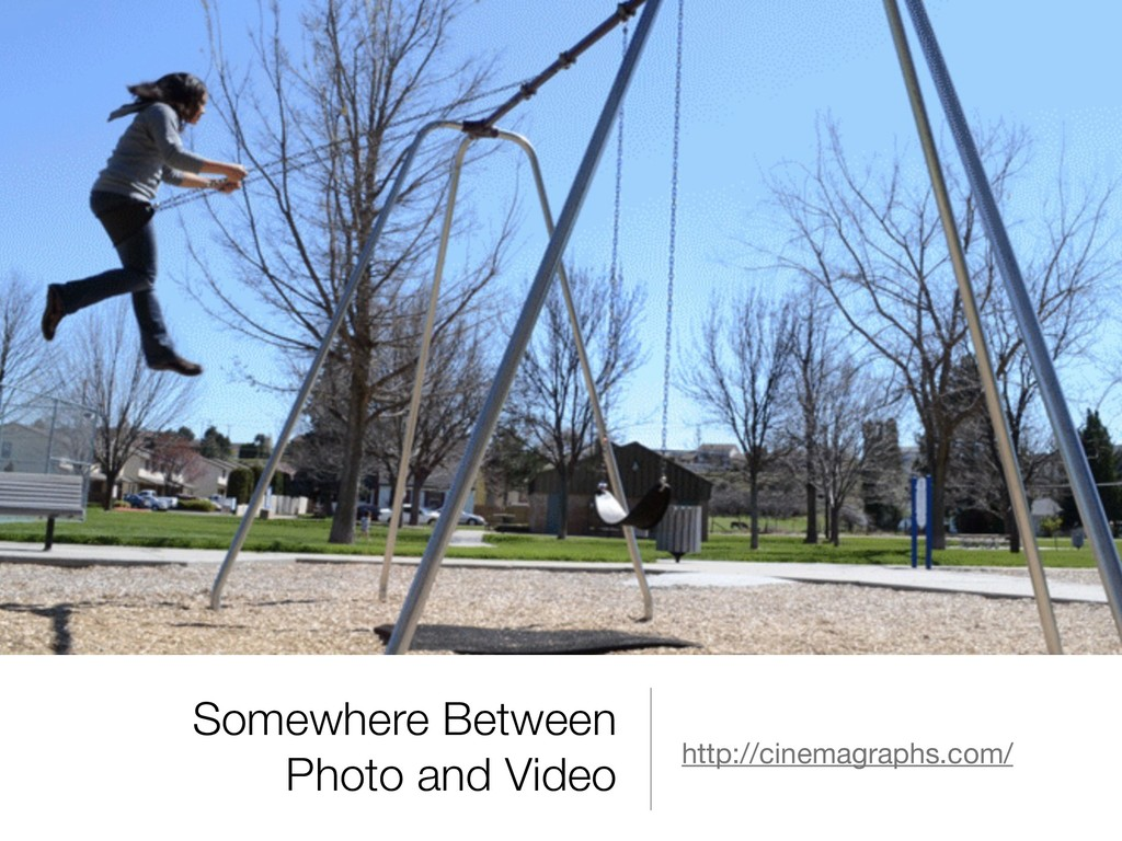 Somewhere Between Photo and Video http://cinema...