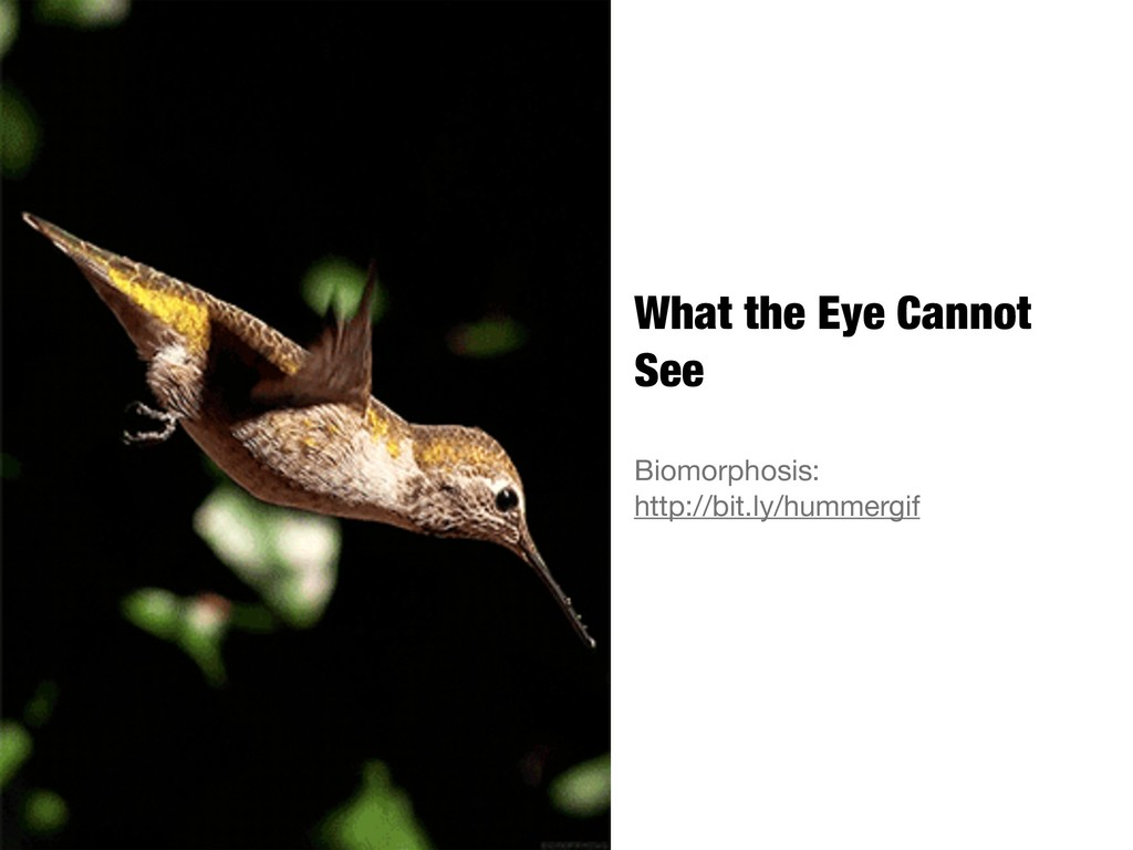 What the Eye Cannot See Biomorphosis:  http://b...