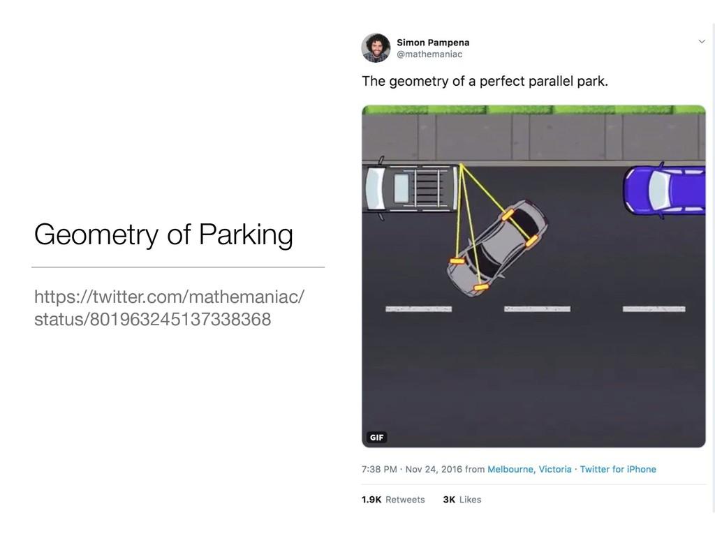 Geometry of Parking https://twitter.com/mathema...