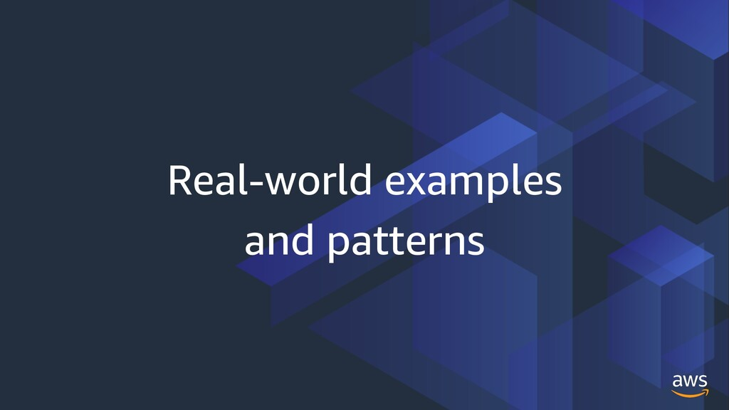 Real-world examples and patterns