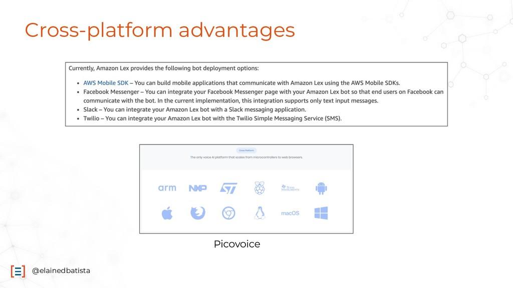@elainedbatista Cross-platform advantages Picov...