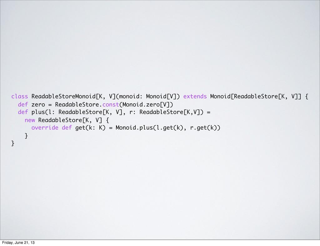 class ReadableStoreMonoid[K, V](monoid: Monoid[...