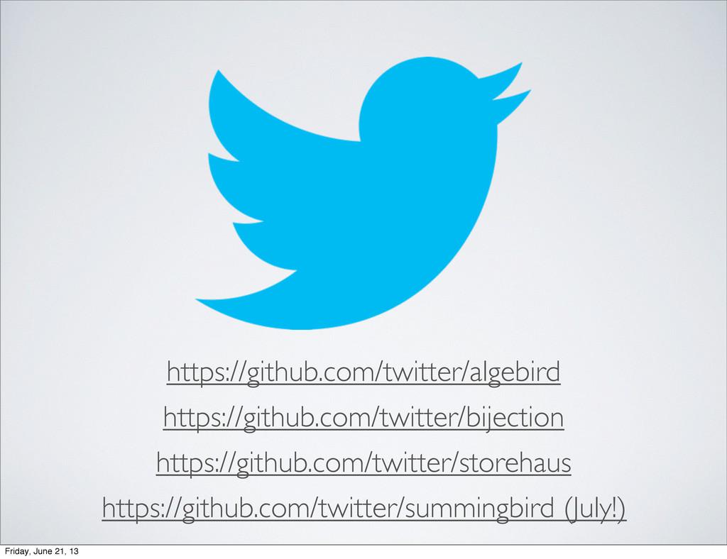 https://github.com/twitter/algebird https://git...