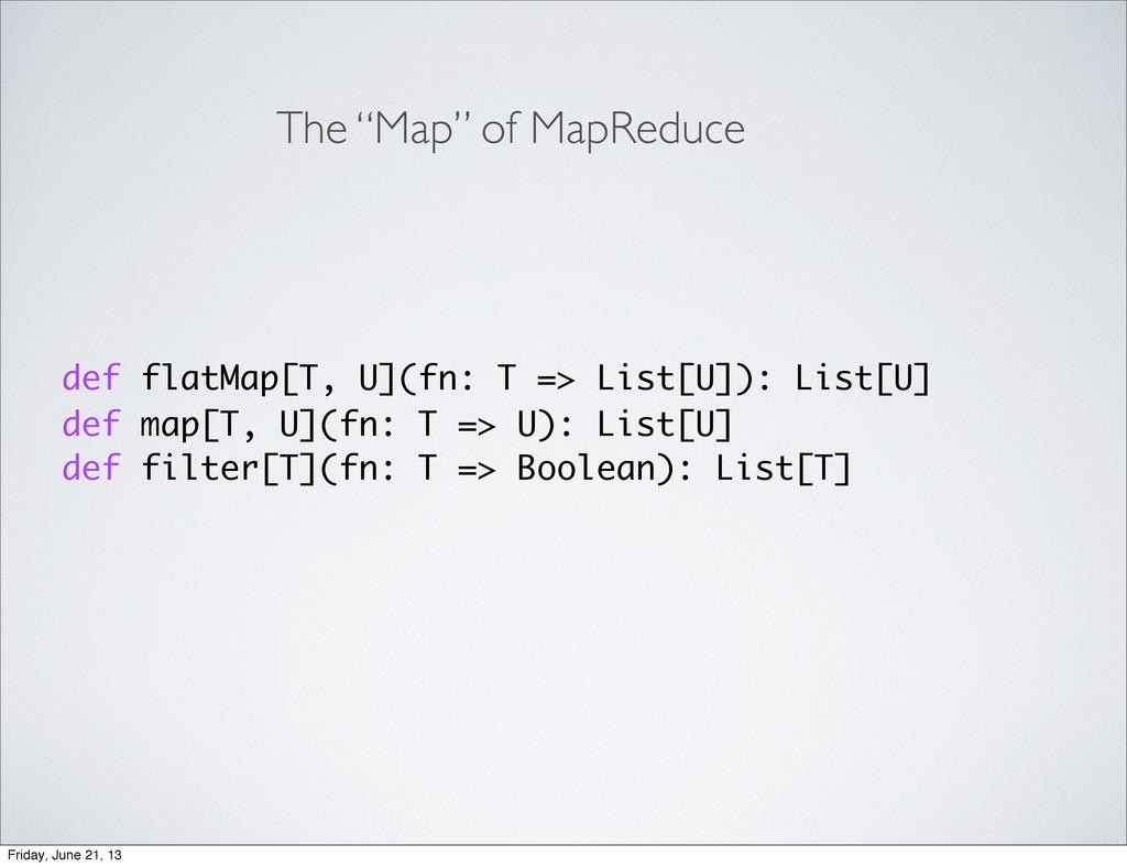 def flatMap[T, U](fn: T => List[U]): List[U] de...