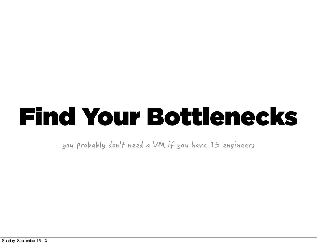 Find Your Bottlenecks [QWRTQDCDN[FQP VPGGFC...